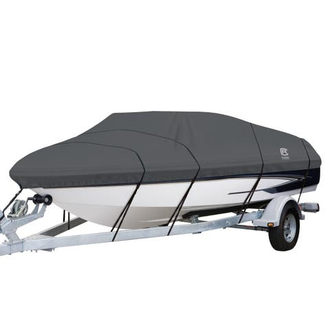 Classic Accessories 88958 StormPro Boat Cover, 20 feet to 22 feet long, beam width to 106 inches
