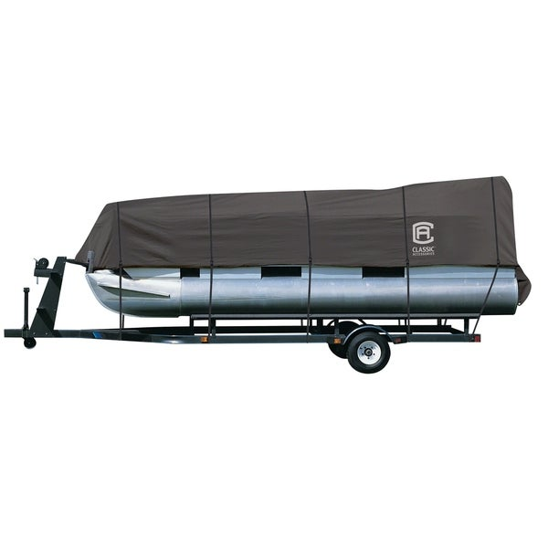 Classic Accessories 20-028-090801-00 StormPro Trailerable Pontoon Boat Cover. Opens flyout.