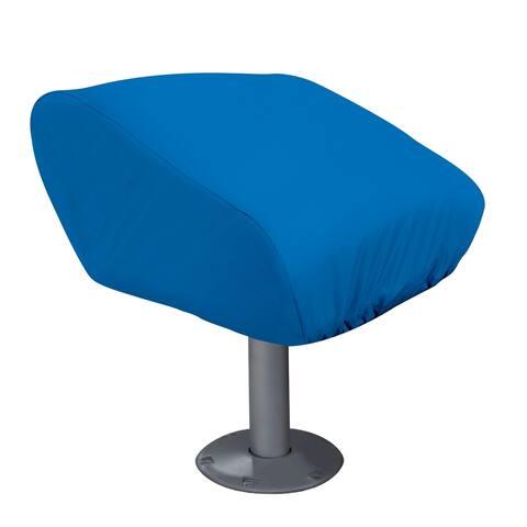 Classic Accessories 20-217-010501-00 Boat Folding Seat Cover, Medium, Blue