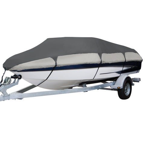 Classic Accessories Orion 83038-RT Deluxe Boat Cover, Model C Fish and Ski toats, Pro-style bass boats, 16 - 18.5 feet L