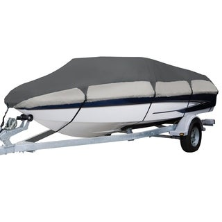 Classic Accessories Orion 83068-RT Deluxe Boat Cover, Model F V-hull runabouts, 22 - 24 feet L, Beam width to 116 inches