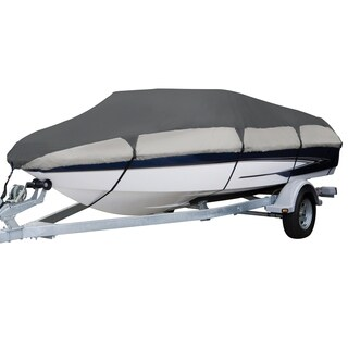 Classic Accessories Orion 83058-RT Deluxe Boat Cover, Model E V-hull runabouts, 20 - 22 feet L, Beam width to 106 inches