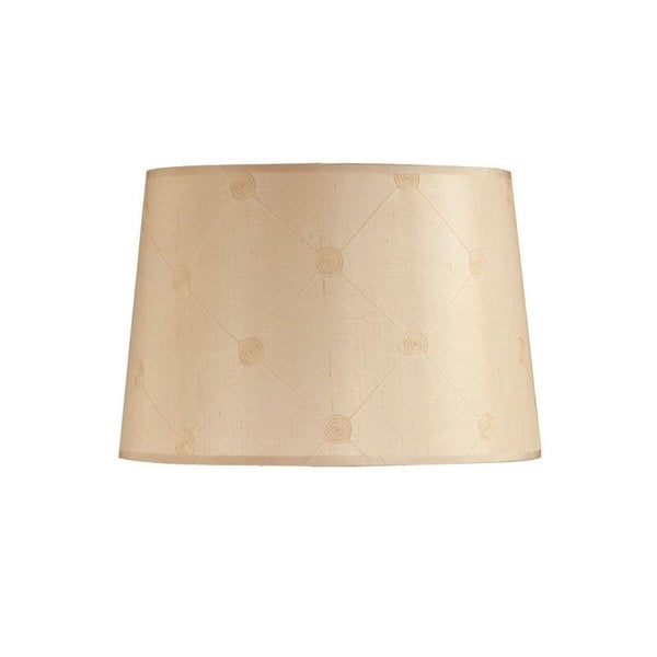 Lucille 18 Butter Yellow Drum Shade