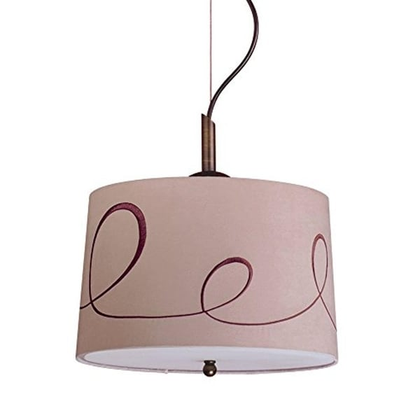 Preston Complete Pendant Gold Laced Cafe