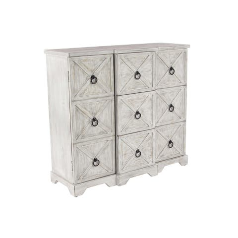 The Gray Barn Idlewild Traditional Wood and Iron Cabinet