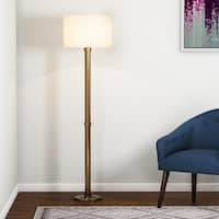 Copper Grove Baptisia Brass Floor Lamp