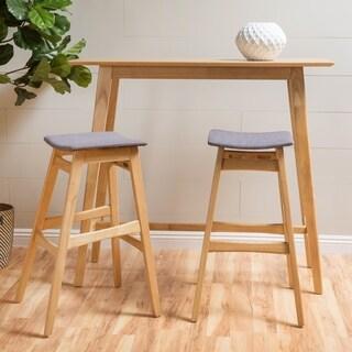Carson Carrington Forssa 3-piece Wood Rectangle Bar Set