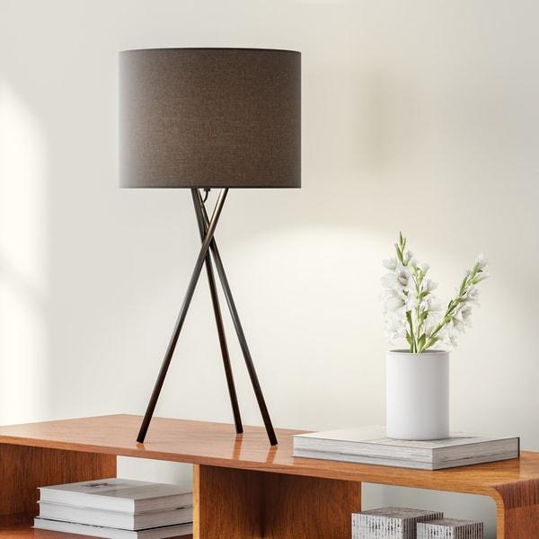 Carson Carrington Fredrikstad 25-inch Tripod Table Lamp