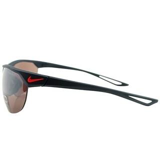Nike Sport EV0938 Cross Trainer E 460 Unisex Matte Obsidian Frame Rose Lens Sunglasses
