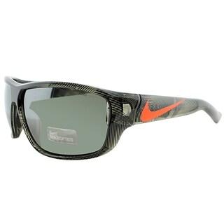 Nike Sport EV0783 Mercurial 8.0 R 289 Unisex Deep Pewter Frame Silver Mirror Lens Sunglasses