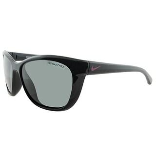 Nike Sport EV0820 Trophi 066 Unisex Black Pink Foil Frame Grey Lens Sunglasses