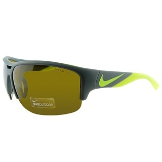 Nike Sport EV0870 Golf X2 070 Unisex Matte Grey Frame Brown Lens Sunglasses