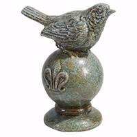 Sparrow Sculptural On a Pedestal
