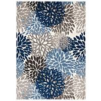 Calithea Vintage Classic Abstract Floral Area Rug - 8' x 10'