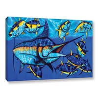Daniel Jean-Baptiste's 'Blue Marlin' Gallery Wrapped Canvas