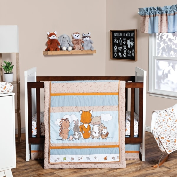 Shop Trend Lab Wild Woods Bunch 3 Piece Crib Bedding Set