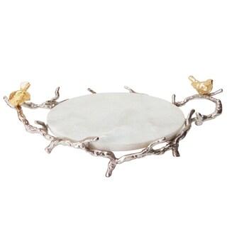 "Alvada Decorative Marble Tray,17x10x6"""
