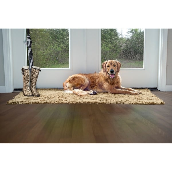 Shop Furhaven Ultra Absorbent Muddy Paws Pet Towel Shammy Dog Rug