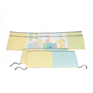 Jungle Chatter Crib Bumper Set