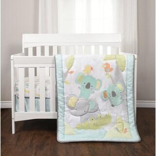Jungle Chatter 3 Piece Crib Bedding Set