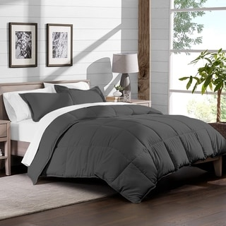 Bare Home Bed-in-a-Bag Breathable Down Alternative Comforter & Sheet Set