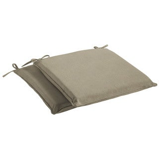 Humble + Haute Sunbrella Canvas Taupe Indoor/ Outdoor Cushion, Set of 2
