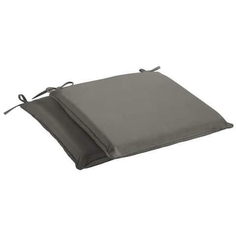 Humble + Haute Sunbrella Canvas Charcoal Indoor/ Outdoor Cushion, Set of 2
