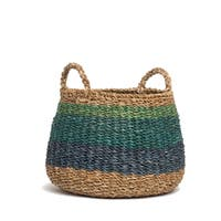 Fab Habitat Indoor Storage Basket - Harlem - Blue