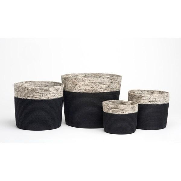 Handmade Bedford Storage Baskets, Set of 4 (Bangladesh)