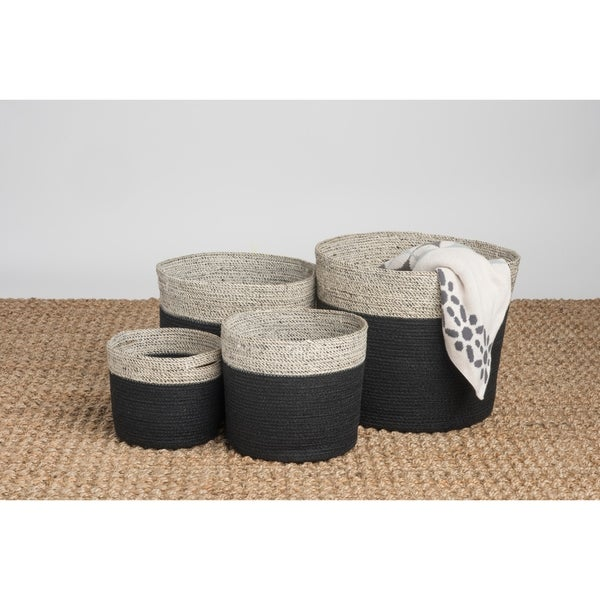 Fab Habitat Indoor Storage Basket - Bedford Storage Basket Set - 4 piece set