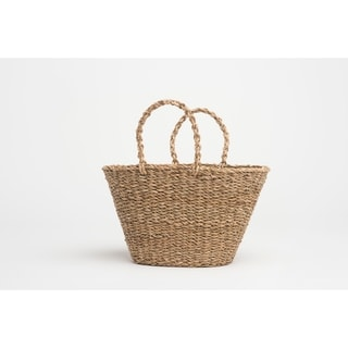 Handmade Geneva Sea Grass Oak Bag (Bangladesh)