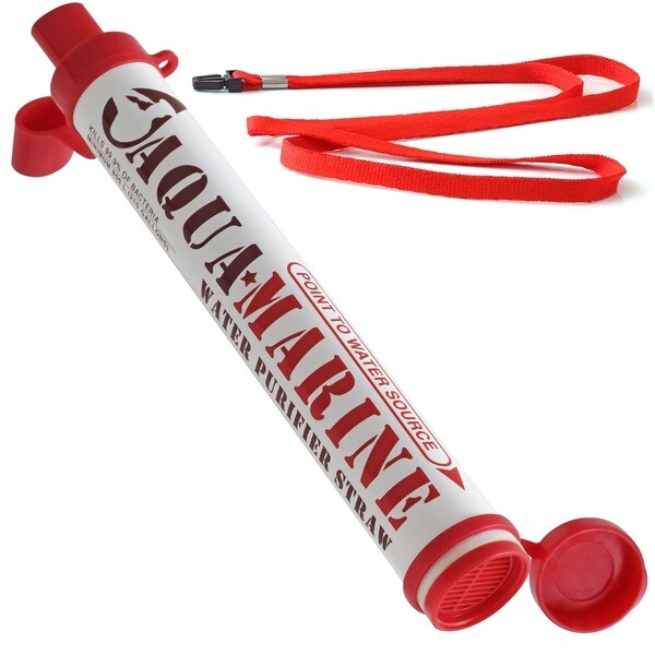 Aqua Marine Portable Personal Survival Water Purifier Filter Straw