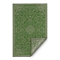 Fab Habitat Murano Lime Green/Cream Indoor/Outdoor Area Rug - 8' x10'