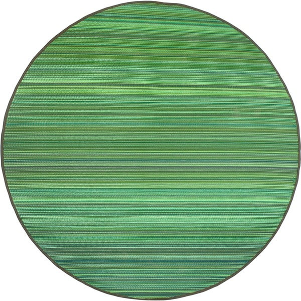 Round Outdoor Plastic Rugs: Shop Fab Habitat Recycled Plastic Rug