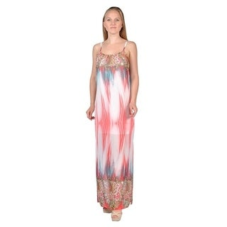 Women's Groovy Printed Fashion Women Maxi Dress (Large) (2 options available)