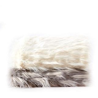 Eyelash Design Fauxfur Throw Blanket