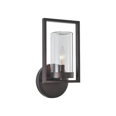 Chloe Transitional 1-light Oil Rubbed Bronze Outdoor Wall Sconce