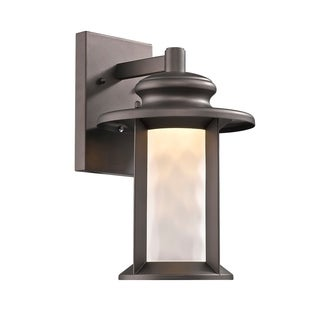 Chloe Transitional 1-light Oil Rubbed Bronze Outdoor LED Wall Sconce