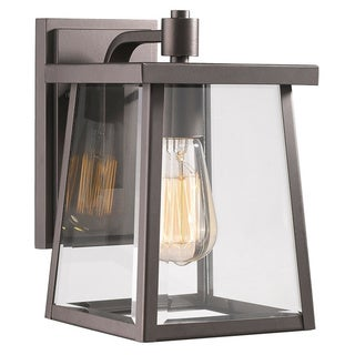 Link to Chloe Transitional 1-light Oil Rubbed Bronze Outdoor Wall Sconce Similar Items in Outdoor Wall Lights
