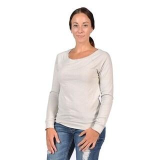 Abbot & main Women's Fashion Sweater Grey