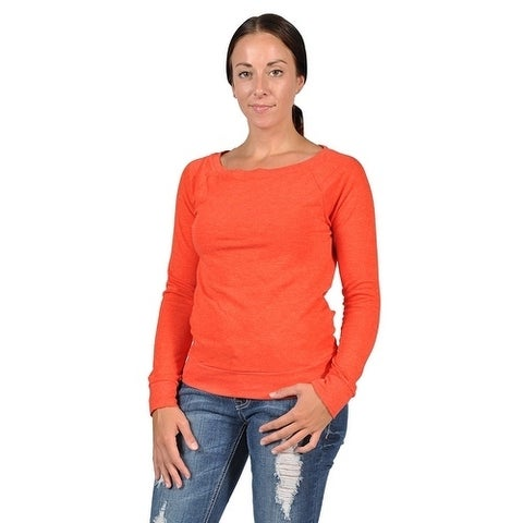 Abbot & main Women's Fashion Sweater Orange