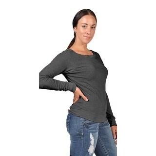 Abbot & main Women's Fashion Sweater Charcoal