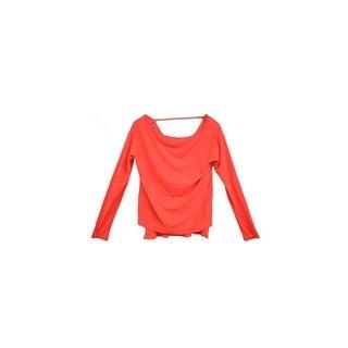 Abbot & main Women's Fashion Sweater Orange