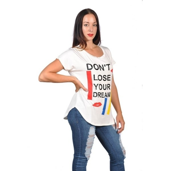 d221df23f06 Shop Womens Fashion Don t Loose Your Dream Plus Size Graphic Tees Top - On  Sale - Free Shipping On Orders Over  45 - Overstock.com - 19532375