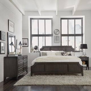 5th Avenue King Bed/Night Stand/Dresser & Mirror