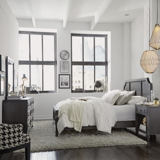 5th Avenue Qeen Bed/Night Stand/Dresser & Mirror