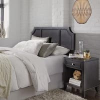 5th Avenue Queen/Full Headboard & Night Stand