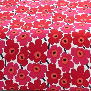 Marimekko Unikko Cotton Percale Sheet Set