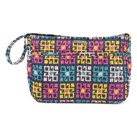 Blue Bohemian Handbags VHC Zealand Hobo Hobo Bag Cotton Geometric Pewter Hardware