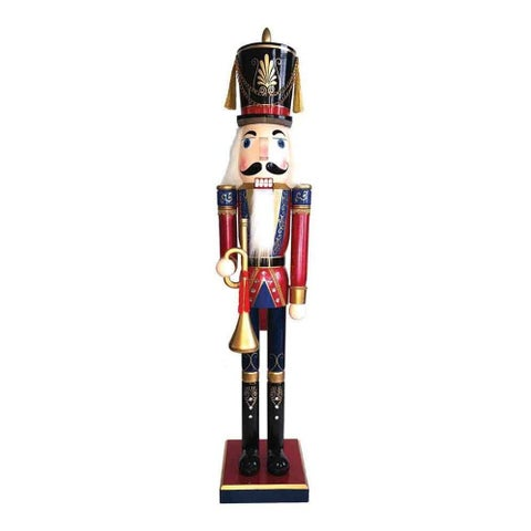 "60"" Royal Bugler Nutcracker"